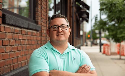 Casey Meraz in Downtown Denver August 2020